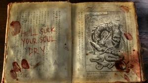 """le Nécronomicon... un livre toujours de bon goût... ^^"""""""